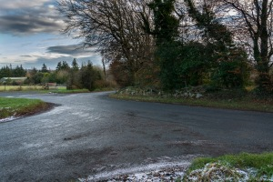 this nice slippery crossroad was photographed by John Ivory  http://jwivory.com/